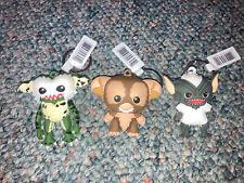 Gremlins 2 New * Brownie * Figural Key Chain Blind Bag Movie Keychain Lot Of 3