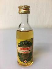 Mignon Miniature Zucca Herboris Amaro Centerbe 4cl 21% Vol A/36