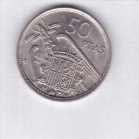 50 Pesetas Spanien 1957 (58) Spain prima Erhaltung