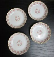 ANTIQUE BAWO & DOTTER ELITE WORKS LIMOGES FRANCE BRIDAL WREATH ROSE BERRY BOWLS!