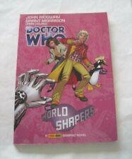 Doctor Who World Shapers Graphic Novel Grant Morrison Jamie Delano Panini Great