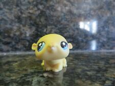 Littlest Pet Shop Exclusive Yellow Hamster with Blue Eyes #1774