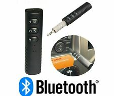 Wireless Car Bluetooth Receiver Adapter - 3.5MM AUX Audio Stereo Music UK STOCK