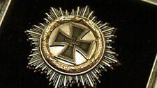Rare Original WH Army General WW2 WWII German Cross Knights iron Gold Diamonds