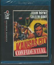 Kansas City Confidential Blu-Ray -NEW- Film Detective Restored Classics