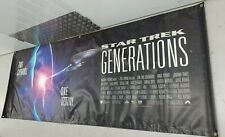 More details for star trek generations original banner movie poster 3 x 8 foot