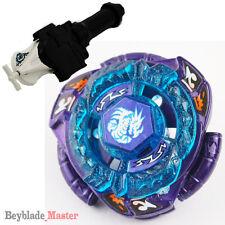 Masters BEYBLADE Metal Fusion BB128 OMEGA DRAGONIS +DRAGO string Launcher+GRIP