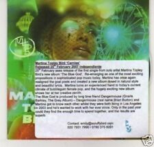 (B320) Martina Topley Bird, Carnies - DJ CD
