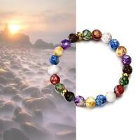 Bracelet en perles de pierre naturelle hommes femmes agate pierre bracelet bijou