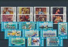 LM93171 Nicaragua olympics paintings fine lot MNH