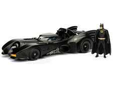 Batmobile - 1989 Movie Version w/ Batman Figures 1:24 Scale Diecast Model