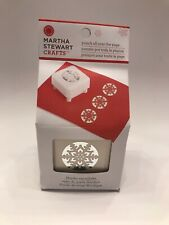 Martha Stewart NORDIC SNOWFLAKE Punch All Over The Page ***NEW*** Discontinued