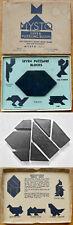 Vintage 1933 DISSECTION PUZZLE – UNUSUAL TANGRAM HEXAGON - BAKELITE? - MYSTO INC