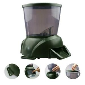 Automatic Pond Fish Feeder Dispenser Auto Fish Food Feeder 4.25L