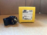 New Hubbell HBL7570 15 amp 125v 2 Pole 3 Wire Grounding Midget Twist Lock Plug