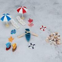 Miniatur Strand Gesetzt Puppenhaus Outdoor Garten Spielen Spielzeug Neue Ge E4Q6