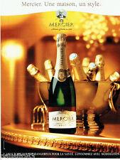PUBLICITE ADVERTISING 046  2000  Chamapgne Mercier Brut