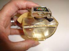 Vintage Caron Fleurs de Rocaille parfum Empty 30ml Perfume Bottle pb163