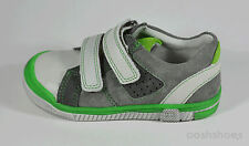 Richter Boys Grey Suede Leather Trainers UK 5.5 EU 22 US 6 0111 RRP £39