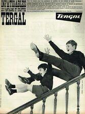 F- Publicité Advertising 1962 Les Pantalons et Culottes Tergal enfant