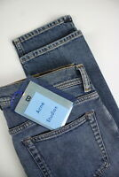 BLÅ KONST! ACNE STUDIOS NORTH MID BLUE Mens W30/L34 Skinny Stretchy Jeans #0559_