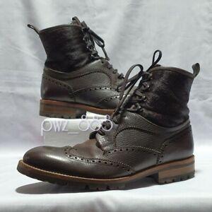 LOUIS VUITTON Men's Leather Boots Approx Size 9.5