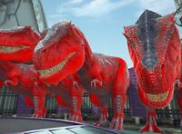 Ark Survival Evolved Xbox One PvE x2 Boss Red Rex Fert Eggs 41kHP & 1237 Melee