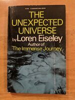 The Unexpected Universe by Loren Eiseley Paperback Harvest / HBJ 1969