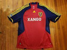 Real Salt Lake Red Adidas Clima365 MLS Xango Jersey Men's Size XL