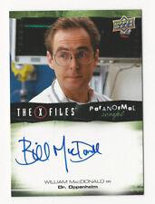 William MacDonald The X Files Ufos & Aliens Paranormal Script Autograph Card