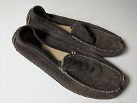 Banana Republic Men's Suede Loafers- Dark Brown Size 10