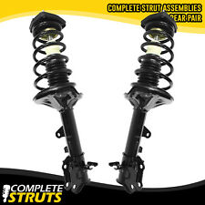 Rear Complete Struts & Coil Springs w/ Mounts Pair for 2003-08 Hyundai Tiburon