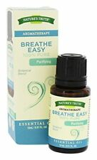 2 Pack Natures Truth 100% Pure Essential Oil Blend Breathe Easy 0.51oz Each