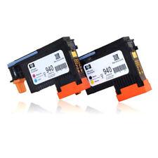 940 Druckkopf Schwarz / Gelb C4900A + Cyan / Magenta C4901A für HP 8000 8500 Neu
