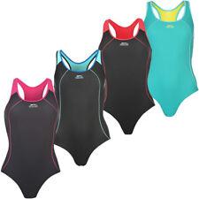 Slazenger Damen Badeanzug Racer 32 34 36 38 40 42 44 46 48 Schwimmanzug neu