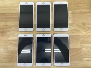 Lot of 6, iPhone 7 Plus 128GB Sprint, Functional Grade A Financed Unpaid Balance
