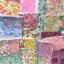 Liberty Tana Lawn® fabric STRIPS - 'Scrap pack' - Lucky Dip, all different