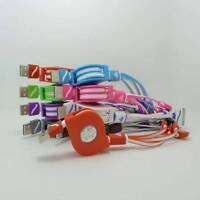 Neu 4 in 1 Einziehbar Multi Ladegerät USB Lade Kabel für Iphone & Android-Handy