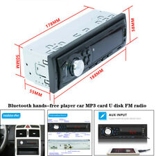 Car Bluetooth hands-free MP3 Player card U disk FM Radio Mobile Phone Charger