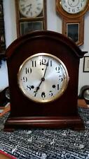 Waterbury Mahogany Westminster Chime Mantel Clock