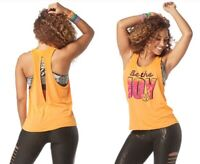 Zumba Be The Joy Loose Tank Top - Oh Orange ~ All Sizes Available!