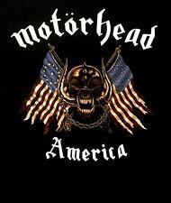 MOTORHEAD cd lgo Iron Fist AMERICA / AMERICAN WAR PIG Official SHIRT MED new