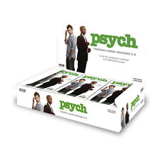 Cryptozoic 2015 Psych Season 5 to 8 Sealed Trading Card Box Autograph Costume