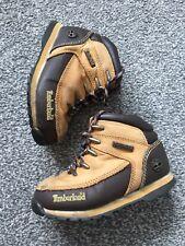 Boys Childs Kids timberland Beige boots size 10 EU 27