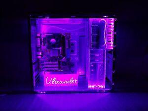 For Mini tower PC case LED strip self-adhesive tape Flexible 170cm Micro ITX ATX