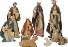 Deluxe Extra Large Traditional Christmas Nativity Set With 10 Figures