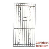 Antique Victorian Iron Gate Window Garden Fence Architectural Salvage Door #371