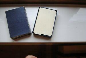 Vintage small white Bible with original box - Oxford University Press