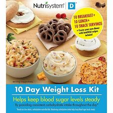 Weight Loss Diet Kit Nutrisystem Breakfast Lunch Snacks (10 Day) Nutrition Foods