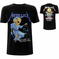 METALLICA Doris Backprint Mens T Shirt Unisex Official Licensed Band Merch